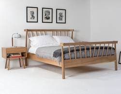 The-handmade-wooden-'VF'-Bed-by-Mathers-and-Hirst