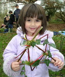 winter-tree-dressing-event-(c)-Sussex-Wildlife-Trust-