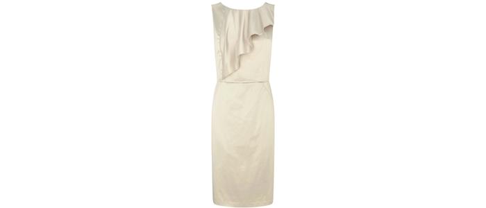 BHS-gold-frill-dress-£45