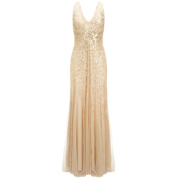 John-Lewis-Adrianna-Papell-Gold-Sequin-Gown-£330