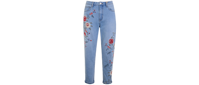TopShop-flowery-jeans-£58