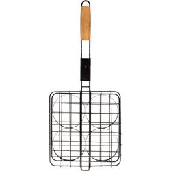 Houseology-Sagaform-BBQ-Bamboo-Hamburger-Grill-£25