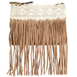 New-Look-Tan-Fringe-Lace-Clutch-Bag