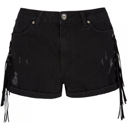 Very-Rochelle-Humes-Fringe-Side-Denim-Shorts-£29