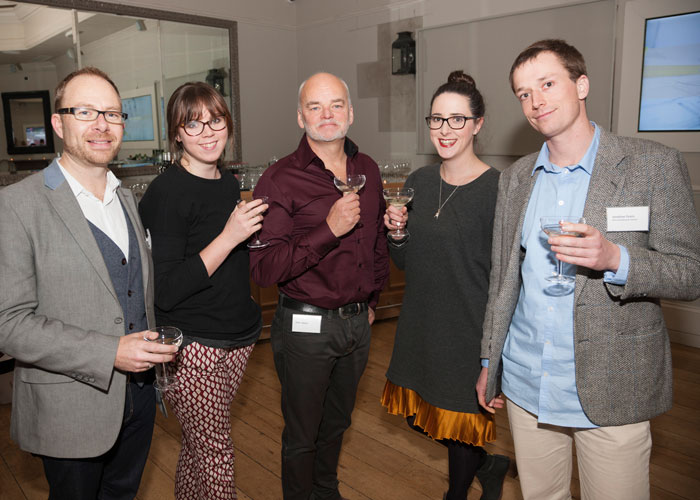 Richard Zinzan, Vicky Willis, Hannah France, Chris Storey and Jonathan Evans of ZSTA Architects