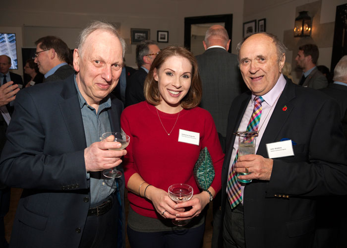 Peter and Katherine Auguste from Peter Auguste and Co Accountants with John Watkins of Watkins Commercial Agents