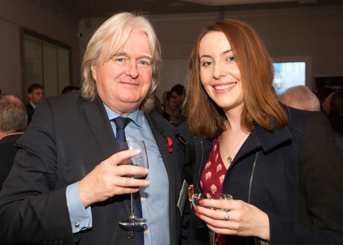 Healys Martin John with Emily Garnham of Rhizome Media