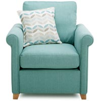 Interior design ideas DFS light blue armchair