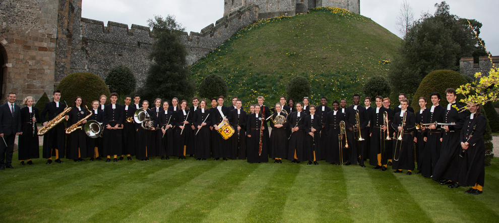 Christ's Hospital School Band Arundel Castle