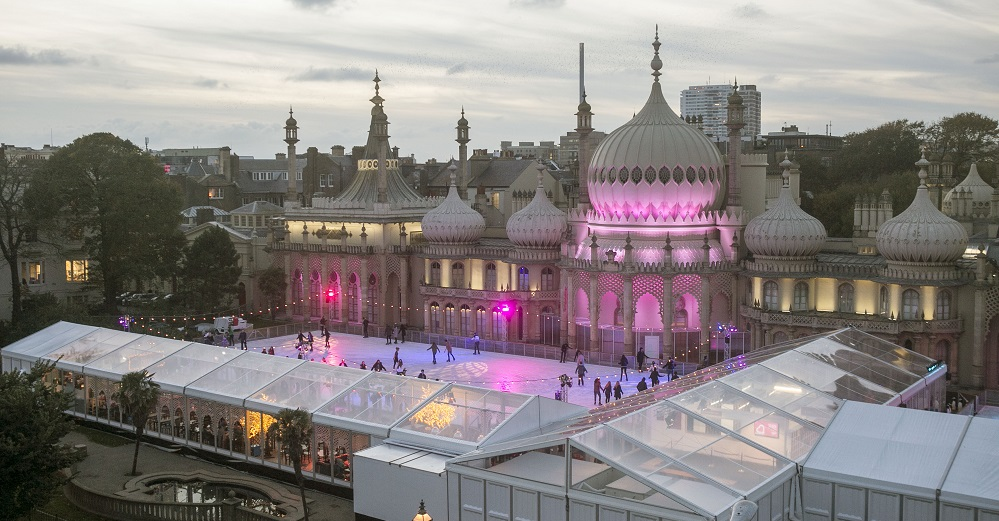 Win tickets for Royal Pavilion Ice Rink on Title Sussex Magazine www.titlesussex.co.uk photo Brighton Pictures