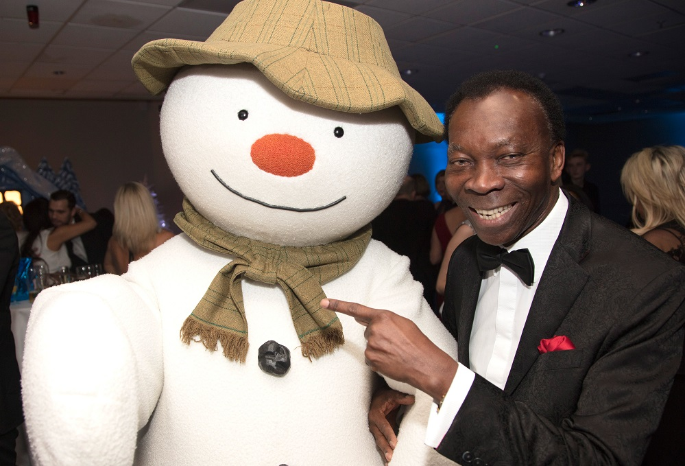 Ambrose Harcourt & The Snowman; Snowball social Title Sussex Magazine www.titlesussex.co.uk