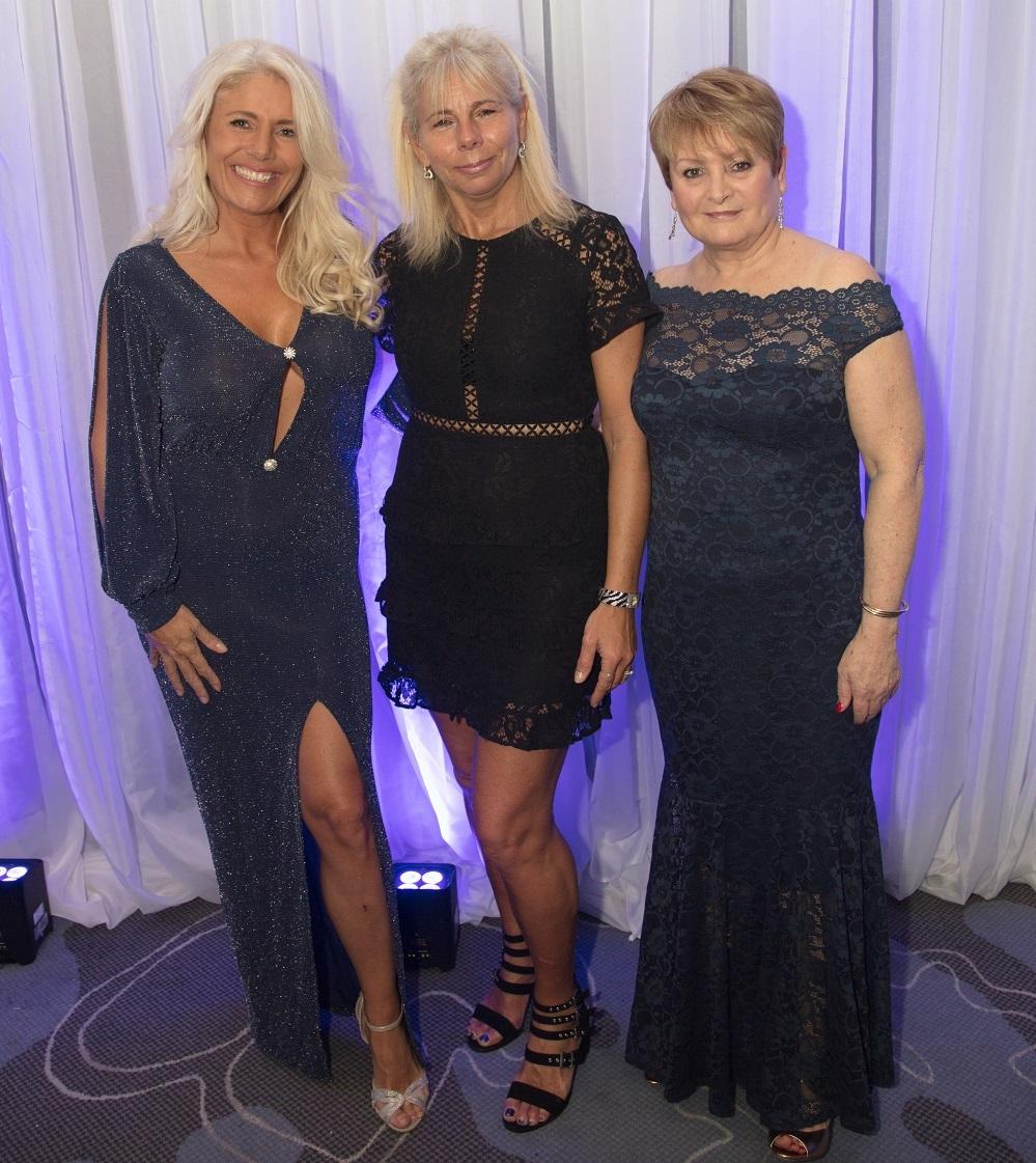 Sylvia McAllister, Carla Sharman, Tania Stocker Snowball social Title Sussex Magazine www.titlesussex.co.uk