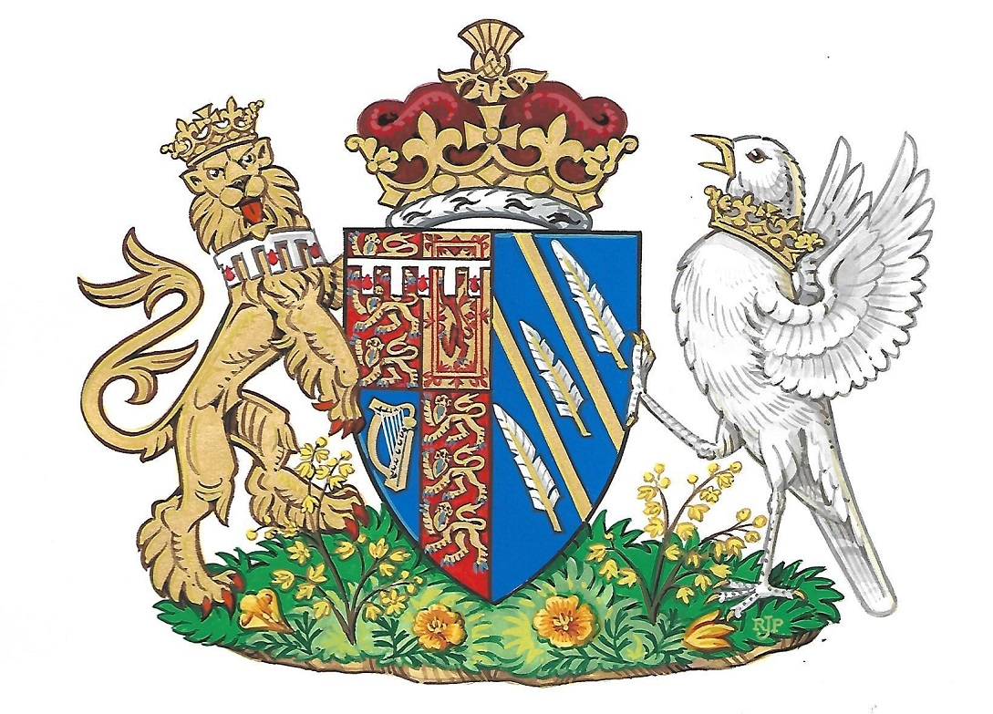 Duchess of Sussex Coat of Arms on Title Sussex Magazine www.titlesussex.co.uk