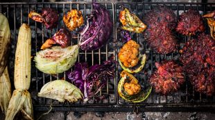 Wicked Healthy Vegan BBQ scene Title Sussex Magazine www.titlesussex.co.uk