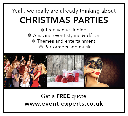 Event Experts - Christmas party bookings click here