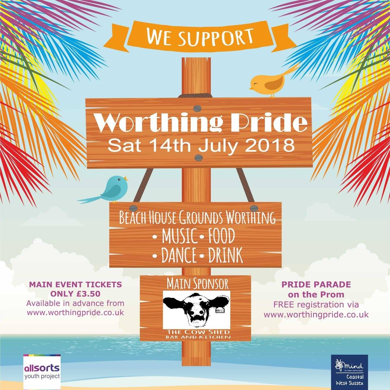 Worthing Pride first ever event Title Sussex Magazine www.titlesussex.co.uk