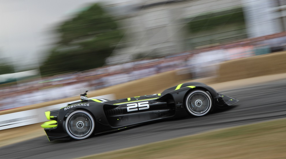 Festival of Speed 2018 Roborace Title Sussex (Adam Beresford) www.titlesussex.co.uk