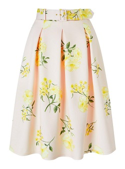 Miss Selfridge pink floral skirt £39 Title Sussex Magazine Frida Kahlo inspired fashion www.titlesussex.co.uk
