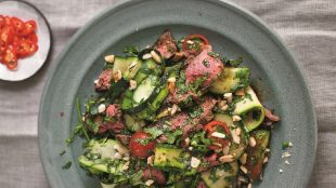 Thai beef salad recipe Title Sussex Magazine www.titlesussex.co.uk