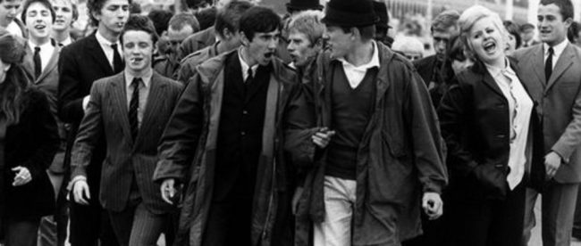 Quadrophenia on Brighton beach photo courtesy Luna Cinema itle Sussex Magazine www.titlesussex.co.uk