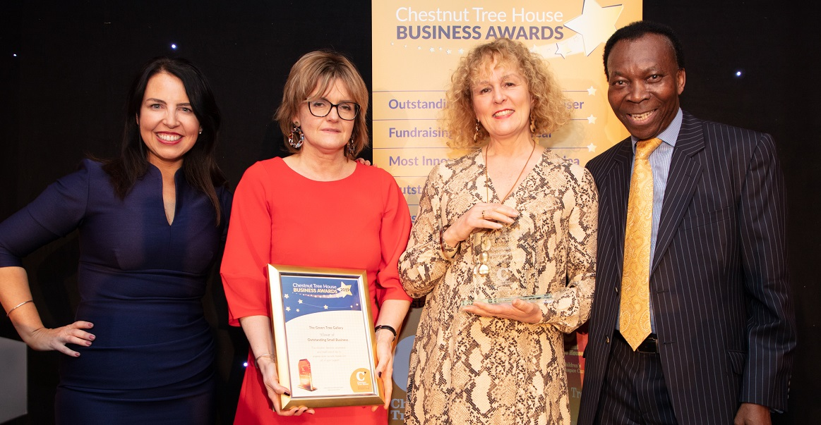 The Green Tree Gallery Oustanding Small Business winners