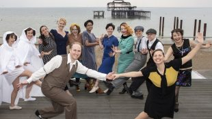 Brighton Lindyhoppers launching the Gemini Design for Print Award 2019 Title Sussex Mag www.titlesussex.co.uk