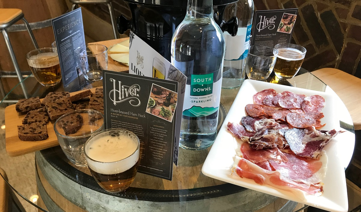Hiver Beers tasting review on Title Sussex Magazine www.titlesussex.co.uk