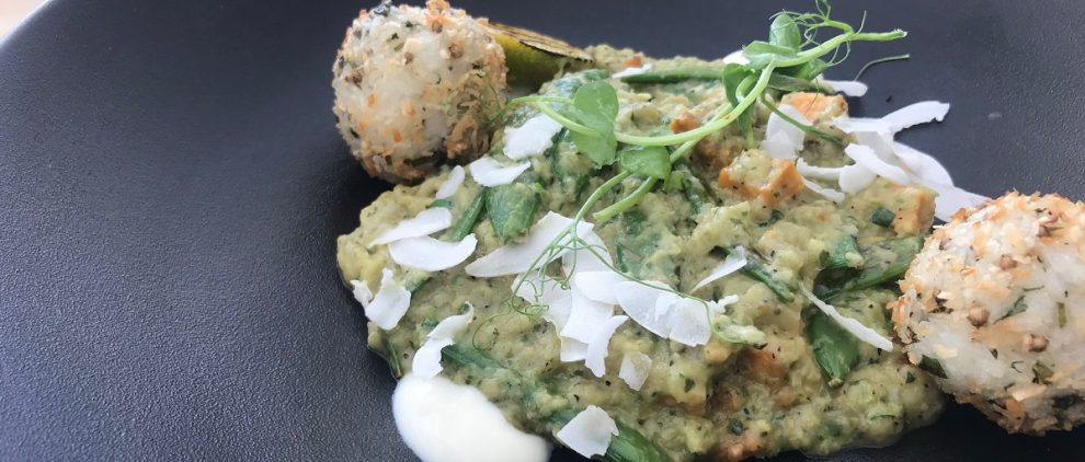 Vegan aubergine coconut and peanut curry at the Grand Brighton review on Title Sussex Magazine www.titlesussex.co.uk