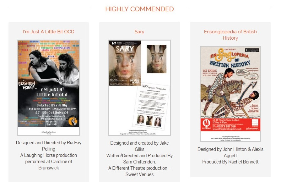 Gemini Design for Print Awards highly commended