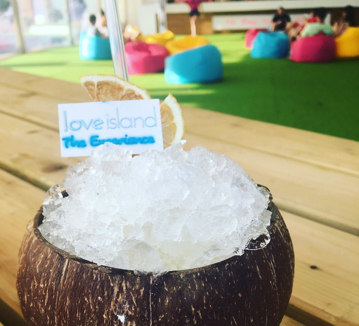 A Mixology Group pina colada Love Island Experience Brighton on Title Sussex Magazine www.titlesussex.co.uk