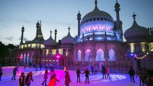 Brighton ice rink Brighton Pictures on Title Sussex Magazine www.titlesussex.co.uk