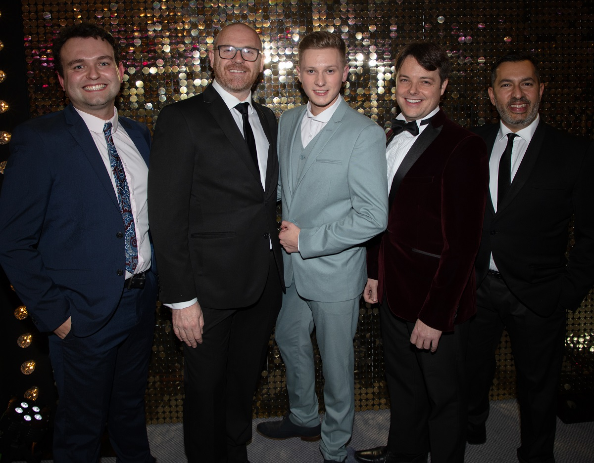 From The Starr Trust Singers and Dancers, Matt, Paul, Alfie, Mark and Darren www.titlesussex.co.uk