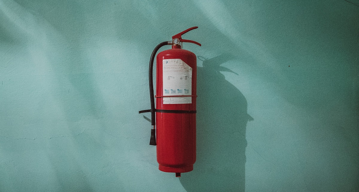 Get a fire extinguisher for your home Title Sussex Magazine www.titlesussex.co.uk