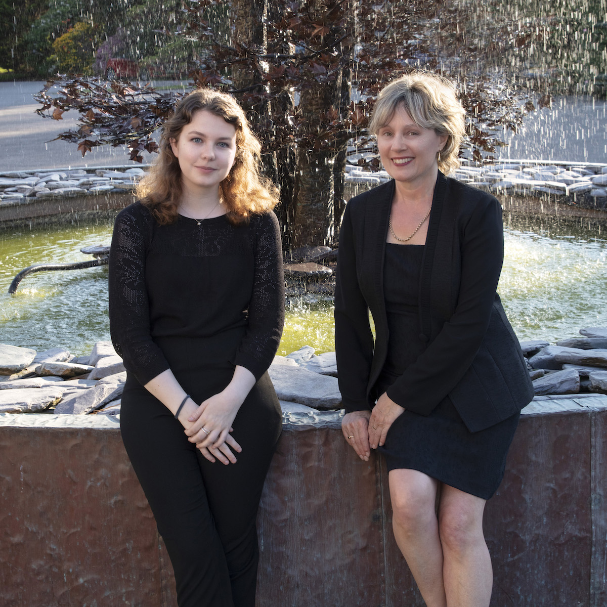 Laura Robertson and Tracey Carr from the Bernardi Music Group at the Leonardslee Gardens Live Music Night - article on Title Sussex - www.titlesussex.co.uk