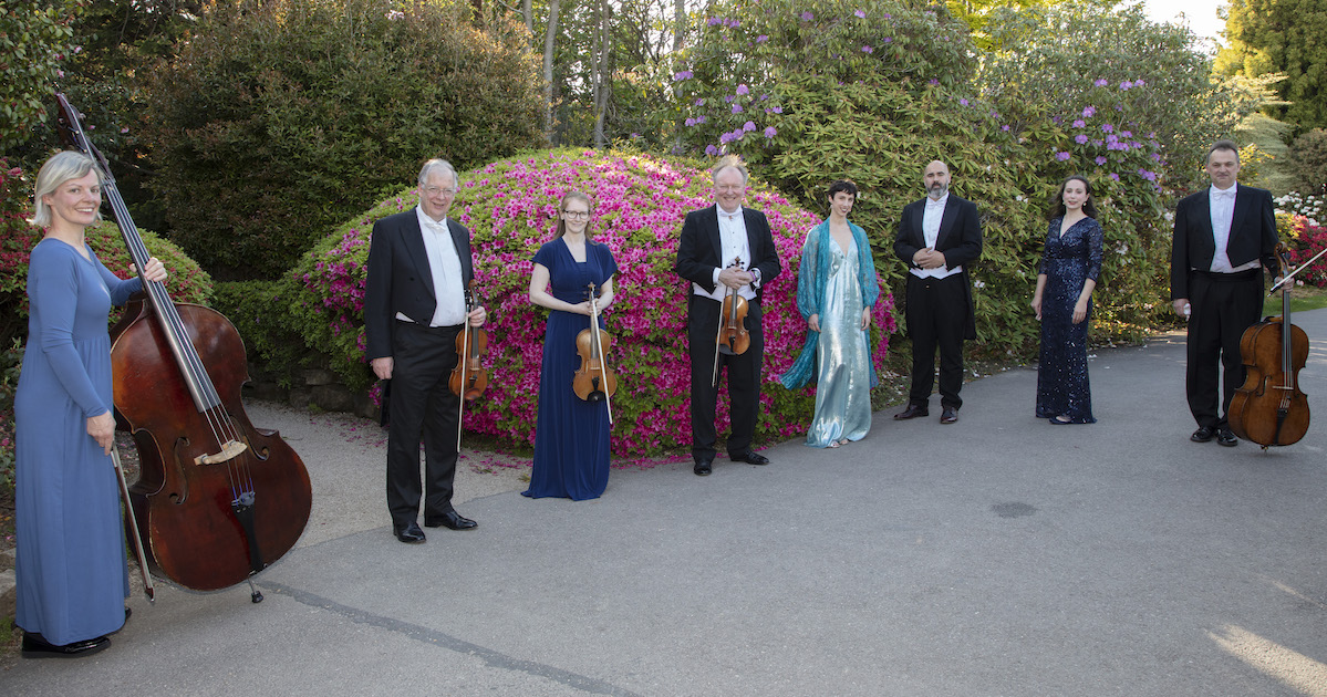 The Bernardi Music Group with Sorprano Charlotte Broker and Tenor Ben Thapa at the Leonardslee Gardens Live Music Night - article on Title Sussex - www.titlesussex.co.uk